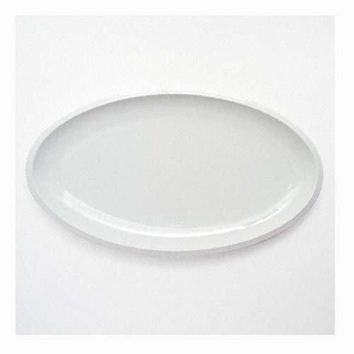 Friesland Ecco weiss Platte oval 33c18,5 cm