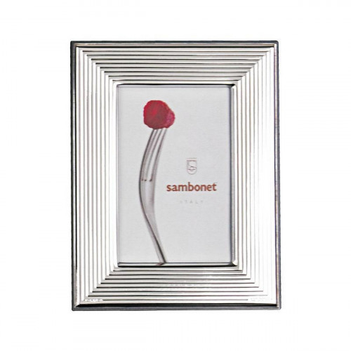 Sambonet Silberrahmen Bilderrahmen More versilbert 9 x 13 cm