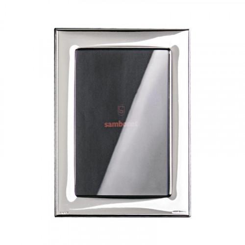 Sambonet Silberrahmen Bilderrahmen Flat versilbert 9 x 13 cm