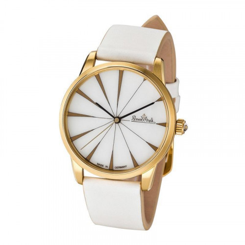 Rosenthal Classic Watch-Collection Armbanduhr 'Sun Ray' gelbgold-white-white