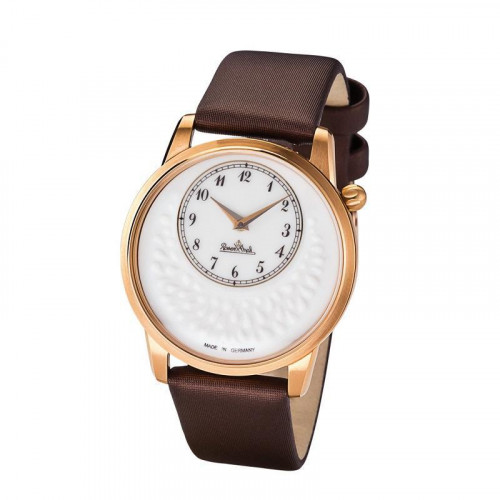 Rosenthal Classic Watch-Collection Armbanduhr 'Tropea' rosegold-white-brown