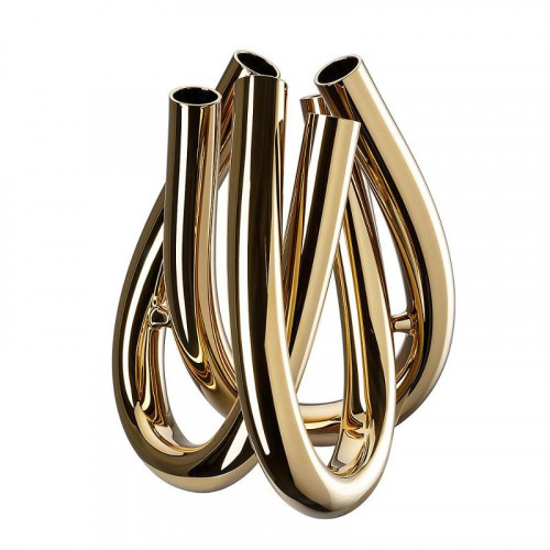 Rosenthal Studio-line Triu Vase gold 22 cm