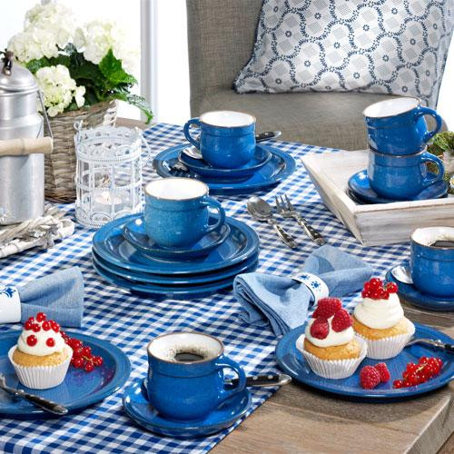 Friesland Ammerland Blue Kaffee-Set 18-tlg.