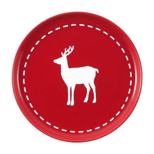 Friesland Happymix Weihnachten Rot Frühstücksteller Hirsch 19 cm