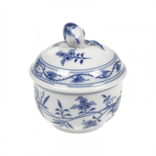 Meissen  'Zwiebelmuster kobaltblau - weißer Rand' Zuckerdose d: 7,5 cm
