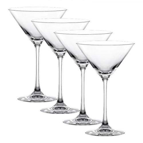 Nachtmann Vivendi Premium - Lead Crystal Martini / Cocktail Glas Set 4-tlg. 195 ml / h: 174 mm