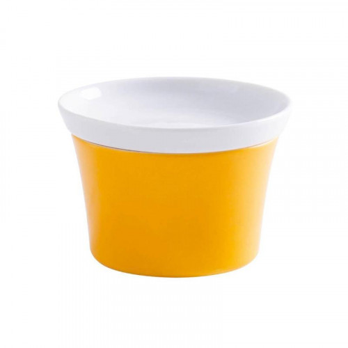 Kahla Magic Grip orange-gelb - Kitchen Ragout Fin-Form 9 cm + Deckel 10 cm