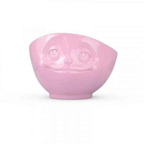 TV Tassen TV MilchkaffeeTasse - Schale rosa verknallt / verträumt 0,5 L