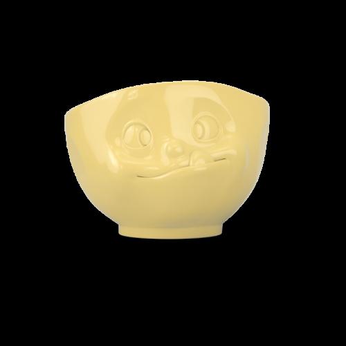 TV Tassen TV MilchkaffeeTasse - Schale gelb lecker 0,5 L