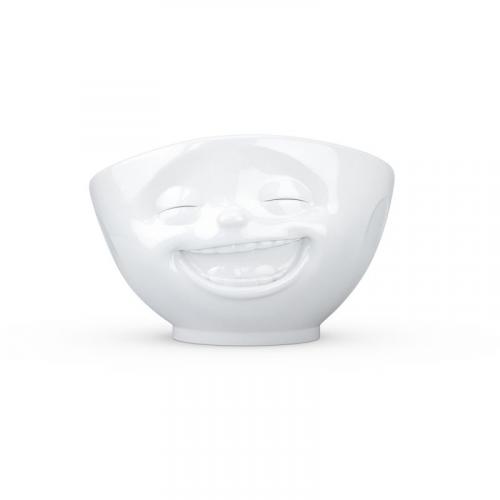 TV Tassen TV MilchkaffeeTasse - Schale weiß lachend 0,5 L
