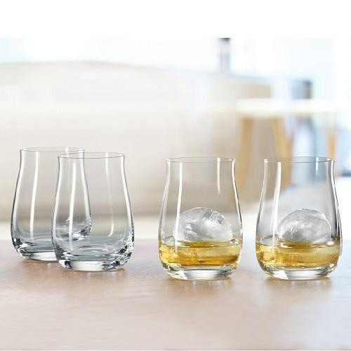 Spiegelau Gläser Bar - Spezialgläser Single Barrel Bourbon Glas Set 4-tlg. 380 ml