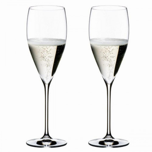 Riedel Gläser 'Vinum XL' Jahrgangs Champagner Gläser XL 2er Set h: 250 mm / 343 ml