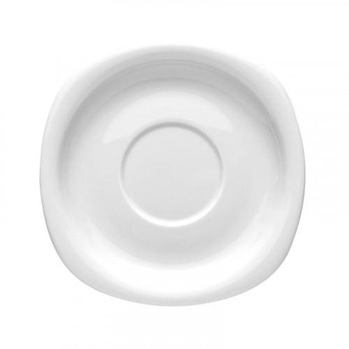 Rosenthal Studio-line Suomi weiss Suppen-,Aroma-,Saucieren-Untertasse 19,5 cm