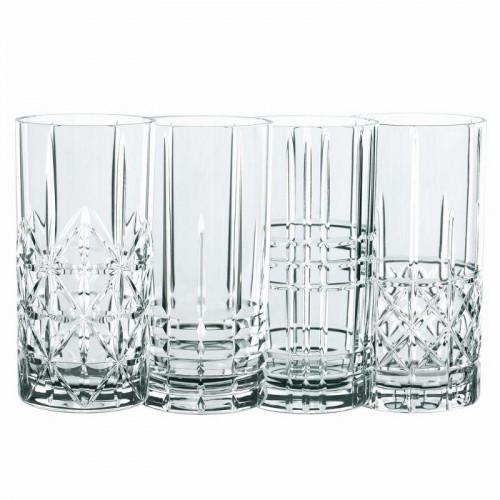 Nachtmann Highland Longdrink Glas Set 4-tlg. 445 ml