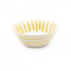 Gmundner Keramik Gelbgeflammt Salatschüssel d: 20 cm / 0,5 L