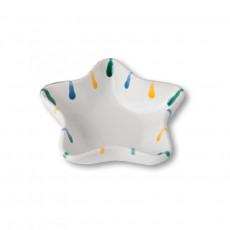 Gmundner Keramik Buntgeflammt Sternschale Stella d: 14 cm / h: 3,9 cm