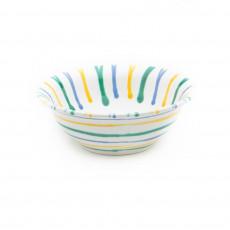 Gmundner Keramik Buntgeflammt Salatschüssel d: 20 cm / 0,5 L