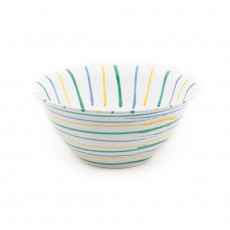 Gmundner Keramik Buntgeflammt Salatschüssel d: 33 cm / h: 14 cm / 4,5 L