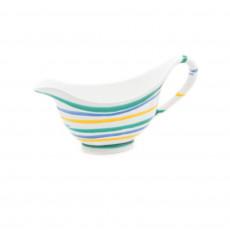 Gmundner Keramik Buntgeflammt Sauciere Gourmet 0,2 L / h: 10 cm