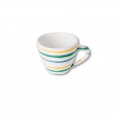 Gmundner Keramik Buntgeflammt Cappuccino-Obertasse 0,16 L / h: 6,8 cm