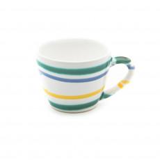 Gmundner Keramik Buntgeflammt Mokka-/Espresso-Obertasse Gourmet 0,06 L / h: 5,1 cm