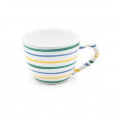 Gmundner Keramik Buntgeflammt Tee-Obertasse Maxima 0,4 L