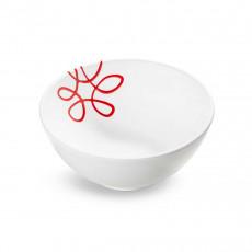 Gmundner Keramik Pur Geflammt Rot Schüssel d: 23 cm / h: 10,1 cm / 1,5 L