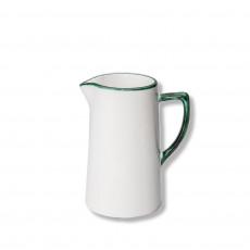 Gmundner Keramik Grüner Rand Wasserkrug 0,7 L / h: 16 cm