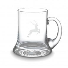 Gmundner Keramik Hirsch Gläser by Spiegelau Bierkrug 0,5 L / h: 12,4 cm
