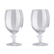 Rosenthal Versace Medusa Lumiere Rotwein Glas h: 162 mm / 476 ml Set 2-tlg.