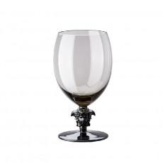 Rosenthal Versace Medusa Lumiere Haze Wasser Glas grau h: 188 mm / 474 ml