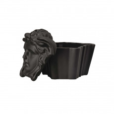 Rosenthal Versace Gypsy Dose mit Deckel - Black 10x8x7,5 cm