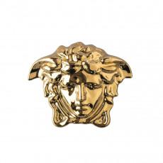 Rosenthal Versace Gypsy Dose mit Deckel - Gold 10x8x7,5 cm