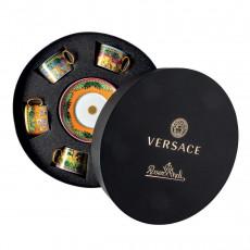 Rosenthal Versace Jungle Animalier Teetassen Set 6-tlg.