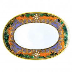 Rosenthal Versace Jungle Animalier Platte L: 38 cm