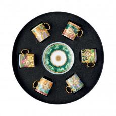 Rosenthal Versace Jungle Animalier Espressotassen Set 6-tlg. 0,10 L / 12,5 cm