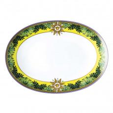 Rosenthal Versace Jungle Animalier Platte L: 33 cm
