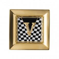 Rosenthal Versace Virtus Schale mit Relief 18 cm