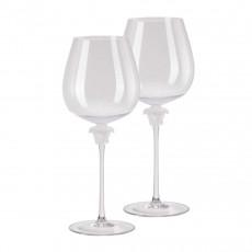 Rosenthal Versace Medusa Lumiere Rotwein Burgunder Glas h: 280 mm / 870 ml Set 2-tlg.