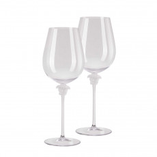 Rosenthal Versace Medusa Lumiere Rotwein Bordeaux Glas h: 280 mm / 990 ml Set 2-tlg.