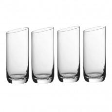 Villeroy & Boch NewMoon Longdrinkbecher Glas Set 4-tlg.
