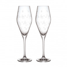 Villeroy & Boch Toy's Delight Sektkelch Glas Set 2-tlg. h: 252 mm / 0,26 L