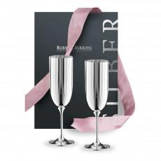 Robbe & Berking Belvedere Bar-Kollektion Geschenkset - Champagner 2-tlg.