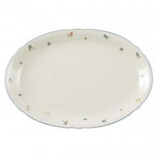 Seltmann Weiden Marie-Luise Streublume Platte oval 35 cm