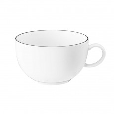 Seltmann Weiden Lido Black Line Milchkaffeeobertasse 0,35 L