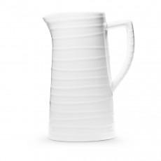 Gmundner Keramik Weißgeflammt Wasserkrug 1,2 L / h: 22 cm