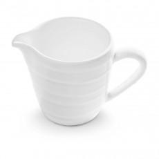 Gmundner Keramik Weißgeflammt Milchgießer Gourmet 0,2 L / h: 8,1 cm