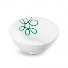 Gmundner Keramik Pur Geflammt Grün Schüssel d: 23 cm / h: 10,1 cm / 1,5 L