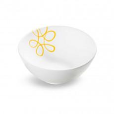 Gmundner Keramik Pur Geflammt Gelb Schüssel d: 23 cm / h: 10,1 cm / 1,5 L