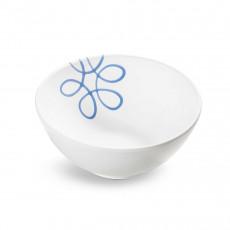 Gmundner Keramik Pur Geflammt Blau Schüssel d: 23 cm / h: 10,1 cm / 1,5 L